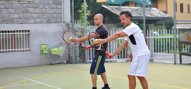 Fitness Club & tennis lessons offer
